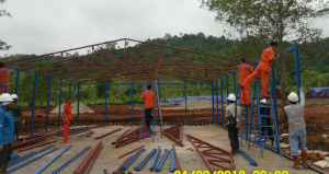 Durable Low Cost Prefab House with Simple Steel Structure Frame pictures & photos