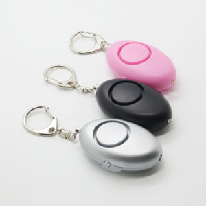 Personal Defensive Anti Attack Alarm with Key Ring 2in1 Anti-Robber Alarm Self Defense Alarm pictures & photos
