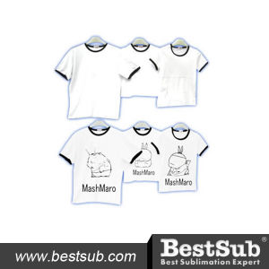 Bestsub Promotional Sublimation Parent-Child Attire T-Shirt Family Clothes (FMT) pictures & photos