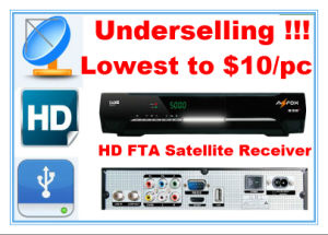 Full HD FTA Receiver with The Cheapest Price 10 Dollars pictures & photos