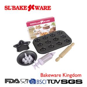 12 PCS Bake Set Carbon Steel Nonstick Bakeware (SL BAKEWARE)