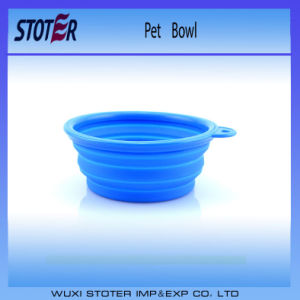 Non-Toxic Colorful Silicone Collapsible Bowl Cup