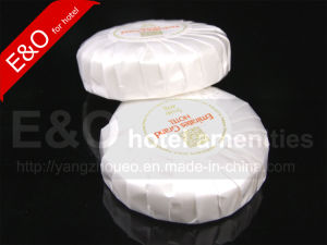 Hotel Round Soap Pleated Wrapped Soap pictures & photos