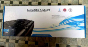 Universal Waterproof Game USB Mini Wired Computer Standard Keyboard pictures & photos