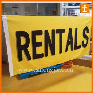 Outdoor Advertising Flag Banners (TJ-2) pictures & photos