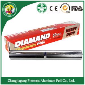 Household Diamond Aluminum Foil Roll pictures & photos