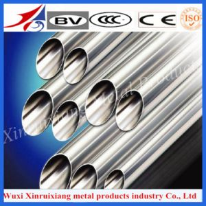 AISI 321 Stainless Steel Metal Pipe with Polished Surface