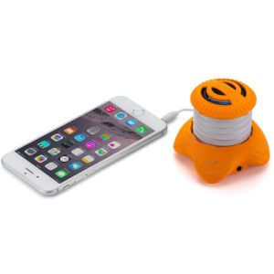 Portable Hamburger Mini Speaker with Rechargeable Battery pictures & photos