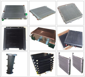 Plate Oil Cooler Industry Aluminum Radiator Air Compressor Parts Cooler pictures & photos