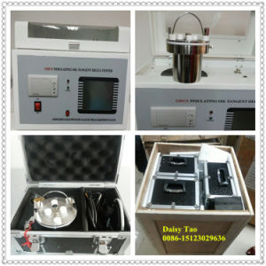 Capacitance & Resistivity Tester Insulating Oil Tangent Delta Tester pictures & photos