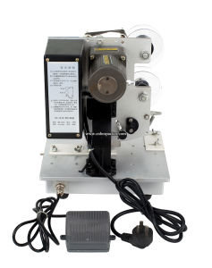 Manual Hot Stamping Date Inkjet Coder pictures & photos