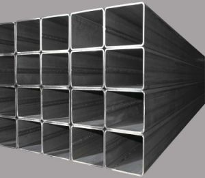 China Wholesale Ms Black Mild Steel Square Pipe / Tube 100X100 pictures & photos