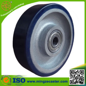 European Type PU Cast Iron Wheel for Industial Caster pictures & photos