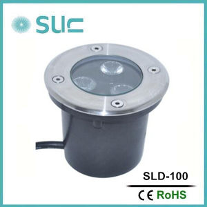 1.2W Brass Recessed Underground LED Light, LED Garden Lights (SLD-14) pictures & photos