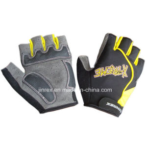 Hot-Seller Gym Bicycle Half Finger Cycling Padding Bike Sports Glove pictures & photos