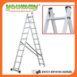 Aluminum 12step Ladder with Een131 Aluminum Loft Ladder AC0211A