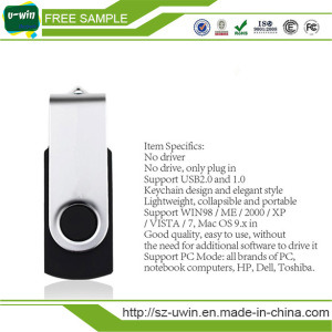 Free Logo Swivel USB Flash Drive 2.0 USB Disk pictures & photos