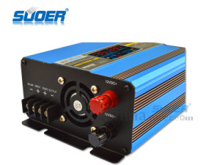 Suoer 500W Built-in Solar Controller 12V Solar Power Inverter with Charger (SUS-500A) pictures & photos
