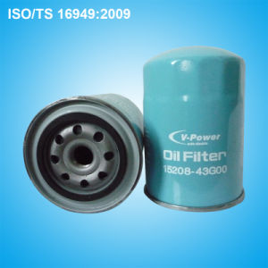 Oil Filter 15208-43G00 for Nissan pictures & photos