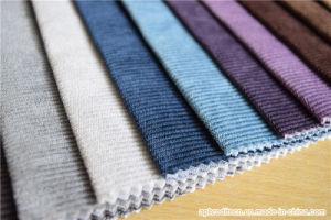 Amazing Woven Polyester Jacquard Fabric Velour Sofa Fabric pictures & photos