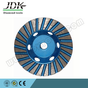 for Stone Maintenance Aluminium Matrix Turbo Diamond Cup Wheel pictures & photos