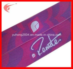 Wide Jacquard Elastic Tape for Sports (YH-ET005) pictures & photos