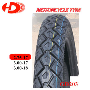 Motorcycle Tyre/Motorcycle Tire 2.75-17/3.00-17/3.00-18 Hot Sale Pattern pictures & photos