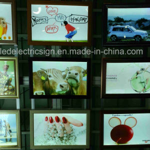 Aluminum Frame Fabric LED Display with Advertising Light Box pictures & photos