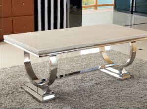 Factory Supply Cheap Marble Dining Table Set for Home (SDT-013)