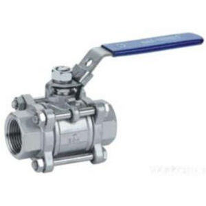 3PC Stainless Steel Threaded End Ball Valve pictures & photos