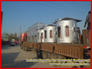 Industrial Melting Furnace Hydraulic Tilting Oven pictures & photos