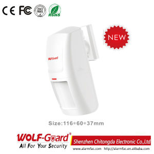 Wolf-Guard Wirelss PIR Motion Detector for Alarm System pictures & photos
