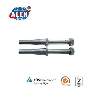 Shinning Anchor Bolt with Nut Zinc Plated Special Fastener pictures & photos