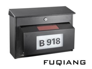 Fq-195 Metal Solar Power House Numbers Mailbox with Two Choice of LED Light Color Solar Power Address Number Light pictures & photos