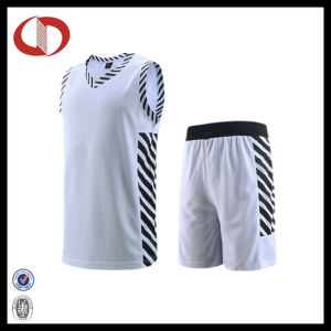 Mans Quick Dry Basketball Uniforms with Striped 2016 pictures & photos