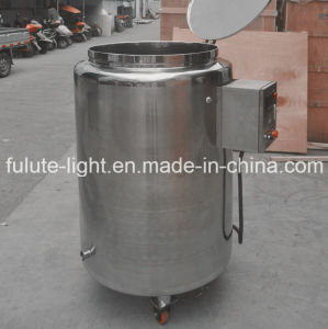 Stainless Steel Heating Storage Tank with Cover pictures & photos