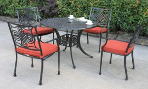 New Style Dynasty 5 PC. Dining Set Patio Furniture pictures & photos
