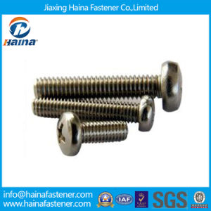GB818 Stainless Steel Pan Head Machine Screws pictures & photos
