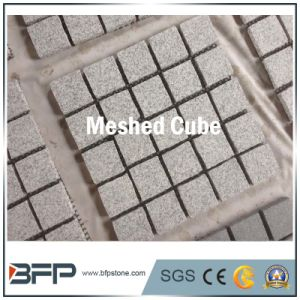 Nature Stone Granite Meshed Cubes for Outdoor pictures & photos