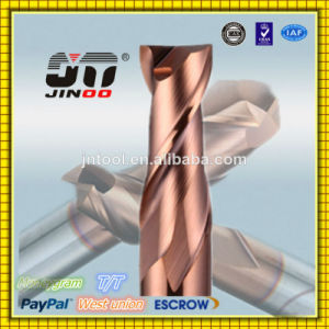 China Super Quality High Hardness HRC60 Z4 Carbide Corner Raduis End Mill pictures & photos