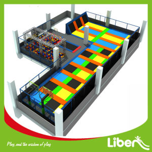 Indoor Trampoline for Health, Open Indoor Trampoline Area pictures & photos