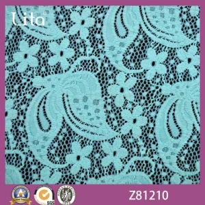 Lita Jacquard Style Knitted Lace Fabric Wholesale (Z81210)