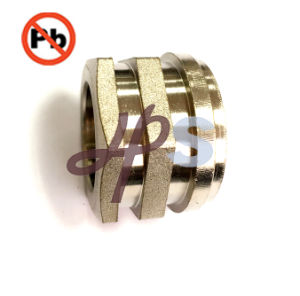 Lead Free Brass Female Thread PPR/CPVC Inserts Factory pictures & photos