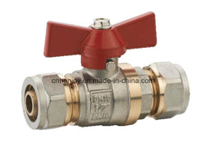 High Quality Brass Ball Valve with Compression End (NV-1078) pictures & photos