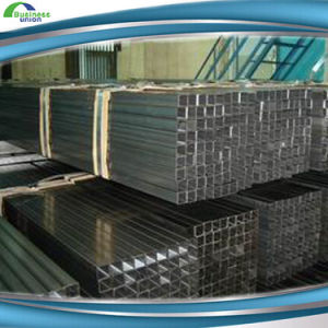 Mild Steel Black Hollow Square Section Steel Pipe pictures & photos