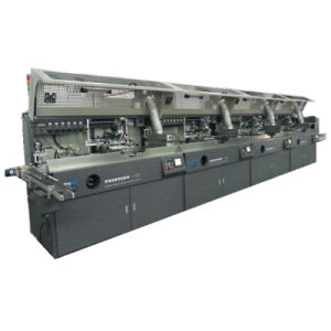 Fully Automatic Round / Oval / Flat Surface Screen Printer with Visual Detection pictures & photos