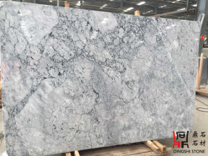 Domestic Prague Grey Marble Slabs for Chinese White Carrara Wall Tiles/Countertops pictures & photos