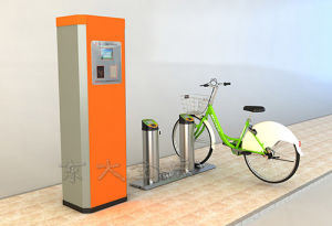 Public Bicycles-Stainless Steel Pipe Single Locker pictures & photos