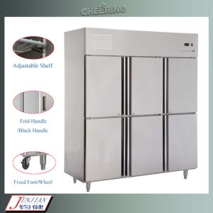 Cheering Stainless Steel Commercial Rrefrigerator/Freezer pictures & photos