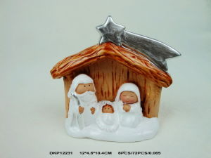 High Quality Christmas Nativity Set with Hourse pictures & photos